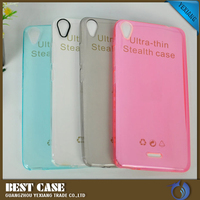 2016 cell phone accessory 0.3mm clear soft tpu back cover case for infinix hot note x551