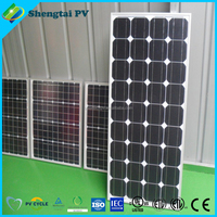12v mono poly Solar panel 100w for solar system cheap price