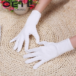 black jewelry microfiber cleaning gloves/screen cleaning gloves