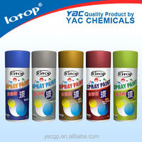 Aerosol paint high temperature paint for for wood with finished surfaces, metals, glass, ABS