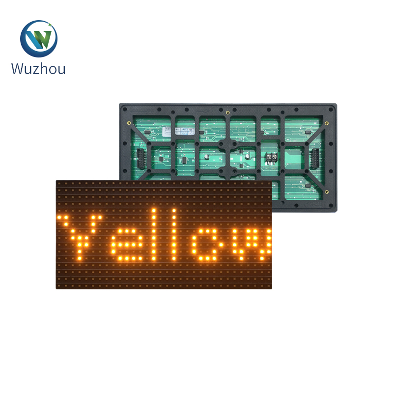 SMD <strong>p10</strong> outdoor yellow light, Warranty 2 years SMD energy-saving LED display Panel,<strong>P10</strong> led module ,led module <strong>p10</strong>