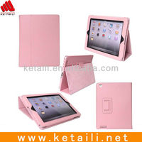 Factory OEM Wholesale Leather Case For Ipad Mini With Holder