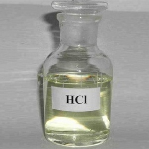 Hot sale 31-36%HCL hydrochloric acid industrial grade with high quality
