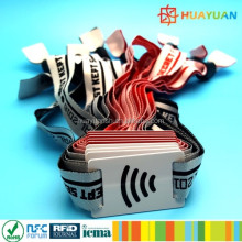 Event Solutions Custom RFID NFC NTAG215 Festival Fabric Wristband