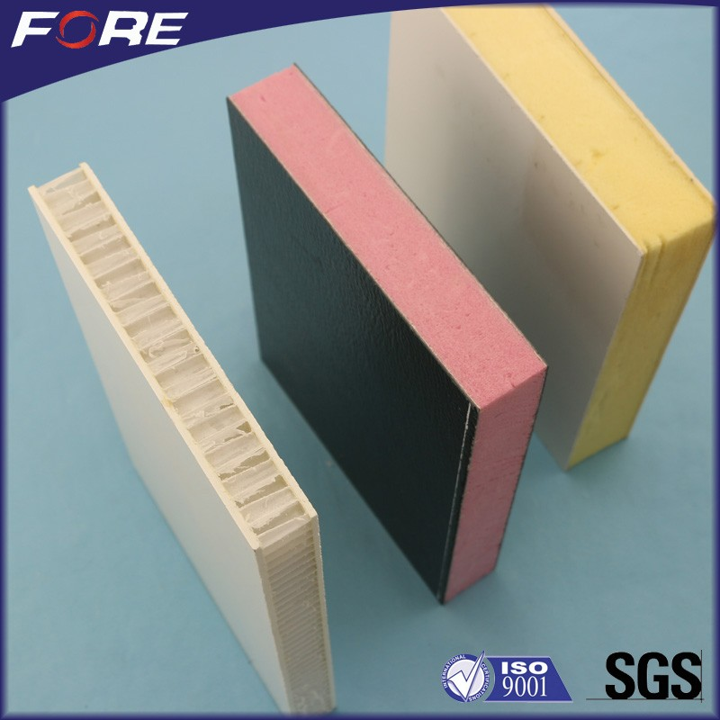 Provide free sample FRP sandwich panel, ISO9001 certificated fiberglass laminate sheets for walls