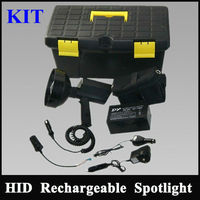 china supplier Rechargeable handheld Searchlight,100W Hunting equipment xenon conversion kit with handle klarheit direct