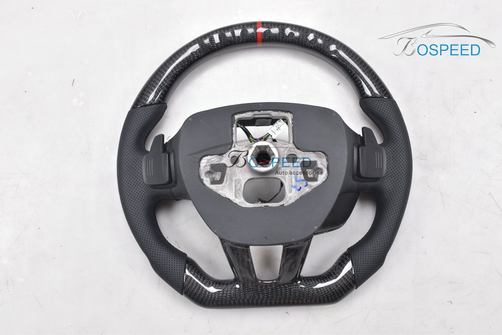 2017 most popular Carbon Fiber steering wheel For Ford F ocus