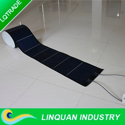 Powerful Amorphous Silicon Flexible thin Thin Film 72W Solar Panel