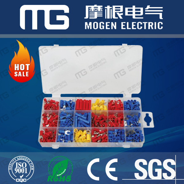 500 pcs assorted electric connector kit