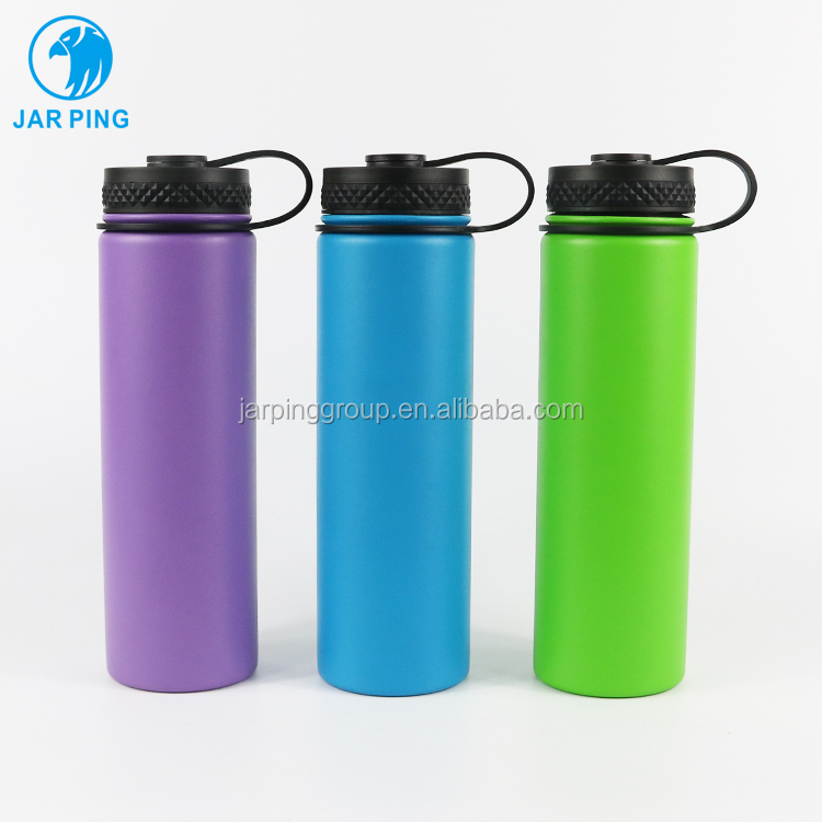 18 oz New design custom colors <strong>stainless</strong> <strong>steel</strong> sports water bottle thermal bottle custom logo for gym sport JP-<strong>1010</strong>-40