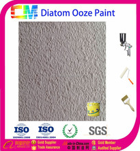 Water based anti-fungus diatom ooze wall paint