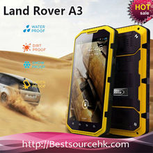 Landrover/Sonim A3 Dual Core 5.3inch IP67 rugged cellphone RAM 1G ROM 8G dual camera GPS 3G cellphone
