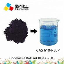 Coomassie Brilliant Blue G250  colorimetric protein gel stains.