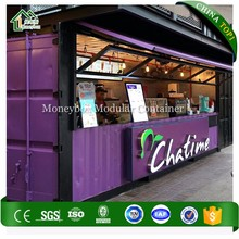 Customized Prefabricated Coffee Shop/Portable Coffee Shop/Shipping Container Coffee Shop