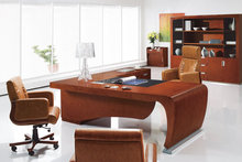 special design office furniture cherry veneer office desk made in China