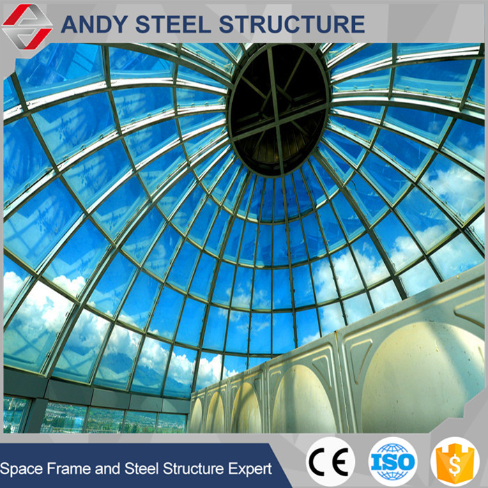 prefab skylight transparent glass roof tile