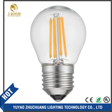 High Quality Led Spiral Filament Bulb, E14 E27 Filament Led Globe, Filament Led Candle Light
