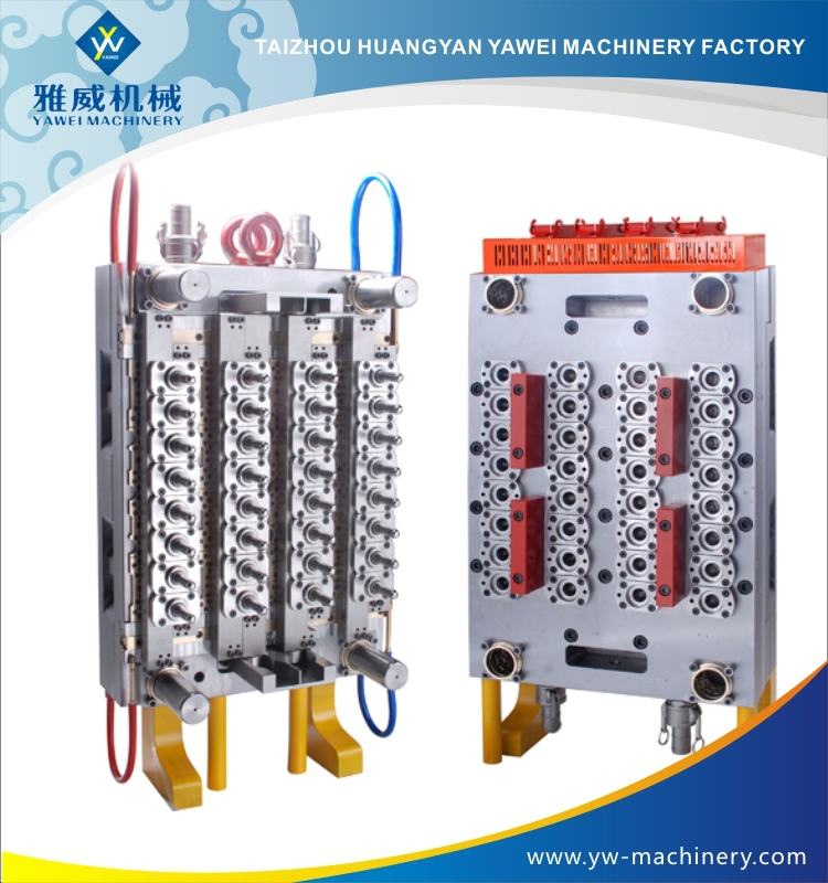plastic injection needle valve water bottle preform mould manufacturer