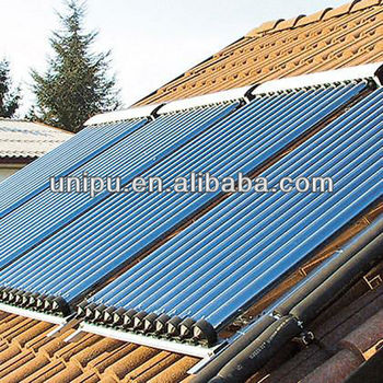 Solar Thermal Collector Heat Pipe solar water heater collector 58/1800/15