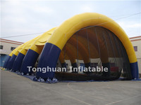 giant inflatable arched tent for event and exhibition