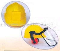 PVC / HDPE INDUSTRIAL SAFETY HELMET (SSS-1029)