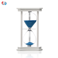 Promotion Custom Sand Timer, Desktop Decorations Colored Glass Hourglass