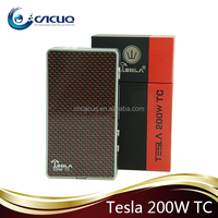 Stock selling for Tesla 200w TC box mod, Cacuq wholesale price vape mod Tesla 200w TC box mod tesla e-cig