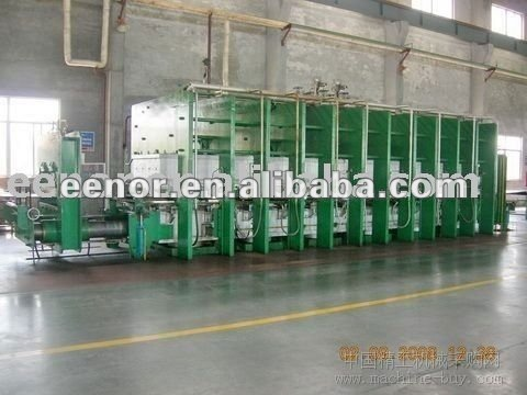industry used rubber Transmission Belts making machine