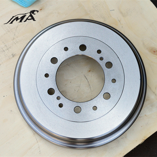 Casting Iron Brake Drum Factory Direct Sale for African Market with G3000 Standard TS16949 Certificate