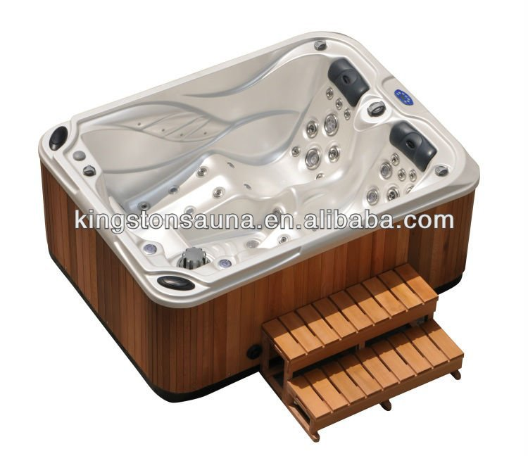 Indoor hot tub 2 person  Mini Hot Tub,2 Person Indoor Hot Tub Jcs-27 With 2 Loungers - Buy ...