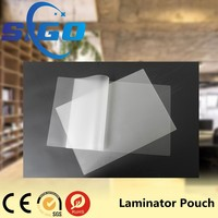 [12 Years Experience]Best quality transparent laminating pet pouch film a4