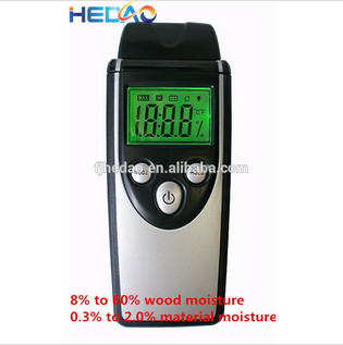 LCD and 3 colors backlight top selling moisture content testing equipment