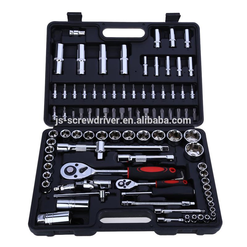Plastic auto repair tool 94 pcs socket set auto diagnostic tool made in China