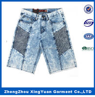 Hot Sale Acid Sexy Jean Shorts For Men