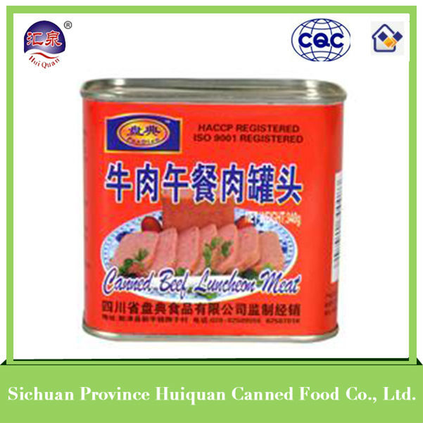 trustworthy china supplier china halal canned beef luncheon meat