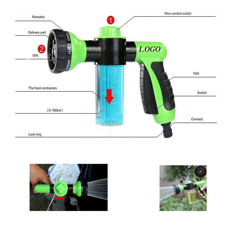 Hot sale special design travel Wash bubble water gun