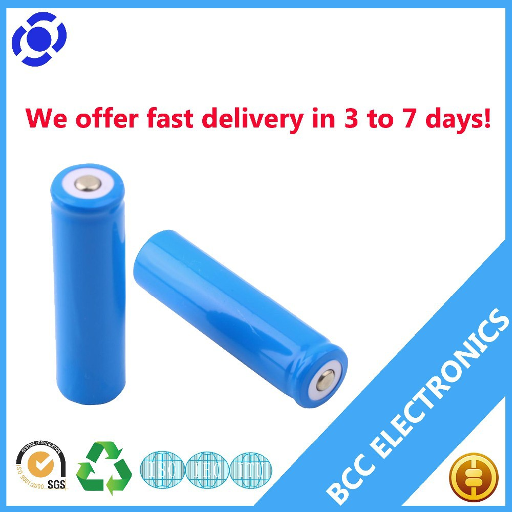 Rechargeable protected li ion battery 18650 3.7v 2500mah