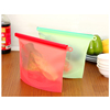 Fruit Used Safe Reusable Silicone Food Storage Bag, Fridge Used Stand up Reusable Food Bag.