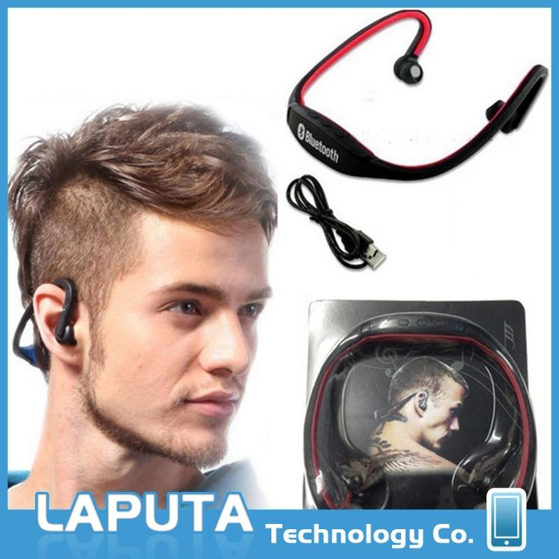 Brand new sport S9 earphone with mp3 player wireless bluetooth music bluetooth headset for wholesales