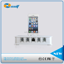 New Design 4 Port Cell Phone Security Alarm System