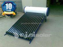 efficient Mexico non pressure thermosiphon solar water heater 150L 15 tubes