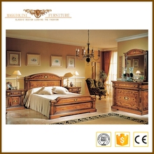 China gold supplier promotional standard room bed