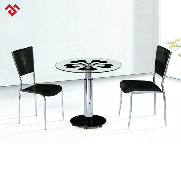 Modern Office Furniture Glass Round Table Negotiation Table