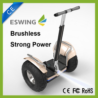 CE/ROHS/FCC Approved 63v Lithium-ion Battery 2400W Motor Max Load 150kg 2 Wheel Self Balancing Eswing Electric Scooter