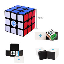 Professional Speed Cube non magnetic GAN 356 Air S Master 3 layer puzzles Educational Toys for kids