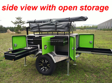 Attractive design offroad camper trailer
