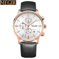 2016 MEGIR watch 2011-15 Wholesale Lady Wrist Watch, Pearl Design Women Watches,Quartz Watch Women