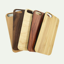 Natural Pro-environment wood case for iphone 7/7plus protective wood+pc cell phone cases wood