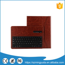 Professional 10inch tablet pc leather keyboard case