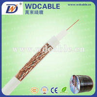 Top ! Wide Frequency Coaxial Cable RG59 for CCTV /CATV